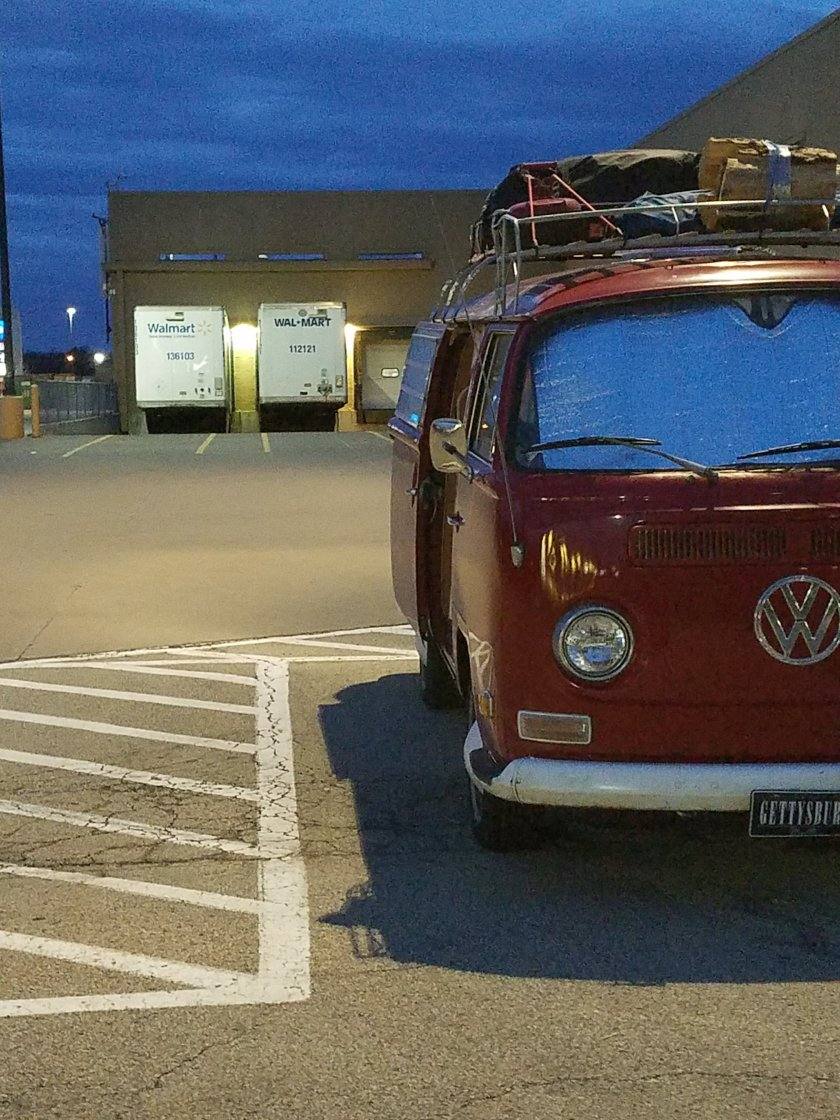 Iowa to West Virgina – The Bus